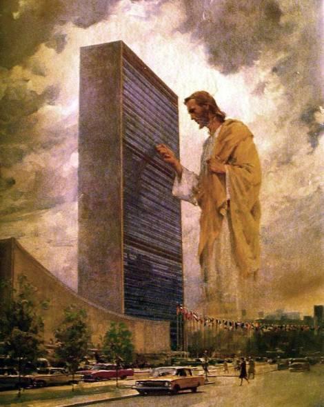 jesus at UN