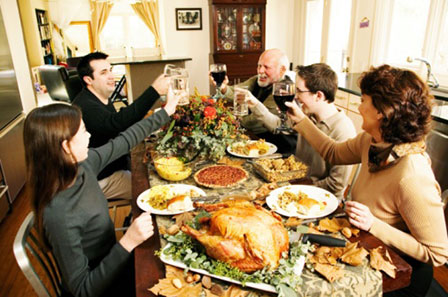 family 2 thanksgiving