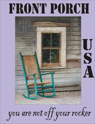 click the rocking chair to see more about Front Porch USA