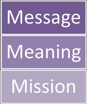 message meaning mission