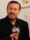 face of Ricky Gervais