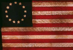 American colonial flag