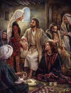 Jesus with women