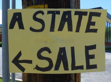 a state sale