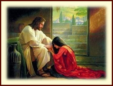 Jesus healing