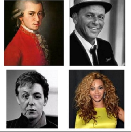 Amadeus, Frank, Paul and Beyonce bigger