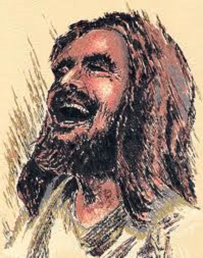 laughing Jesus big