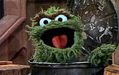 groucy Oscar the grouch bigger