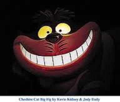 cheshire cat smile big