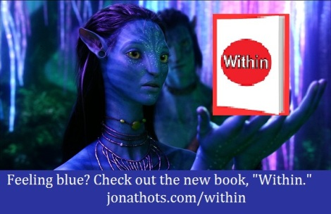 Avatar Within with words