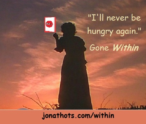 Gone with the Wind with book and words