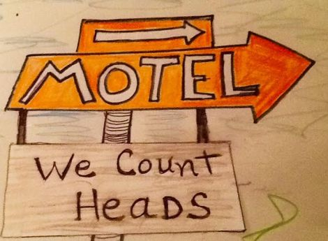 motel we count heads
