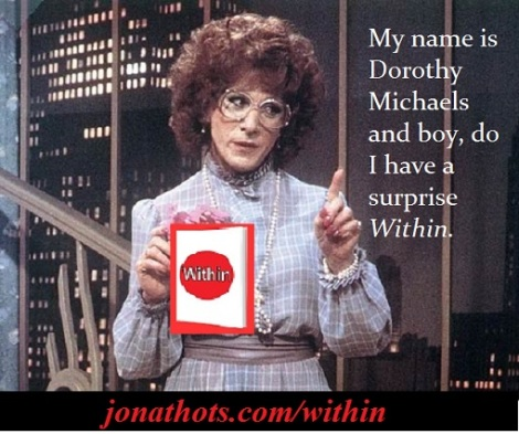 Tootsie with Within plus words