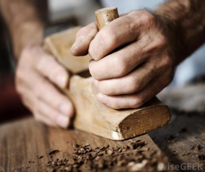 hands woodworking