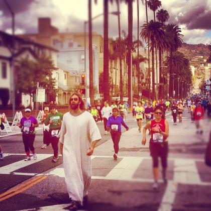 streetwalking Jesus