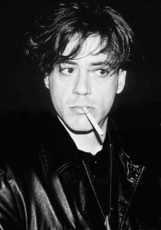 Young Robert Downey Jr.