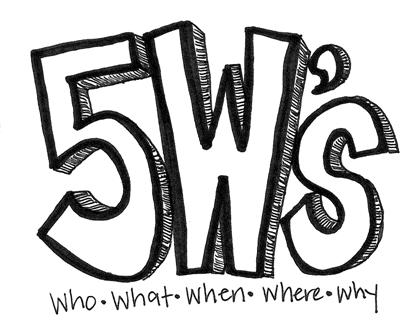 5 W's
