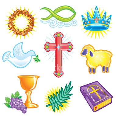 christian symbols color