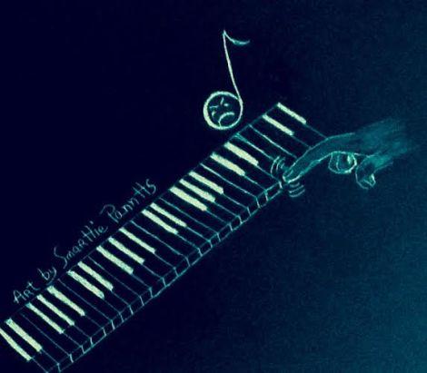 confessing piano