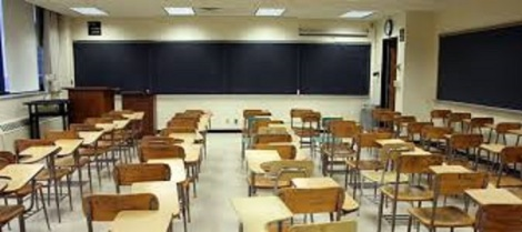 empty classroom bigger