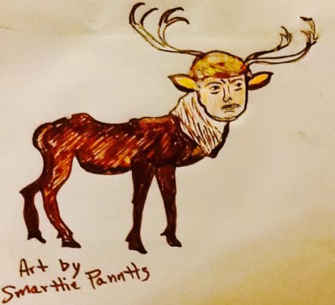 Cracked 5 Reindeer Trumper