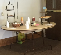 Bauchman treat table