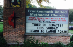 good-news-frankdnmuth-sign
