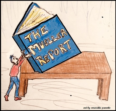The Mueller Report Cartoon