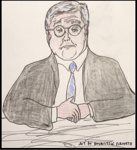William Barr pen and pencil