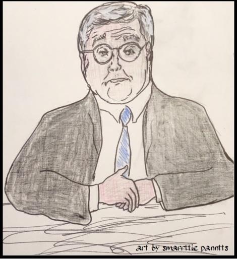 William Barr pen and pencil